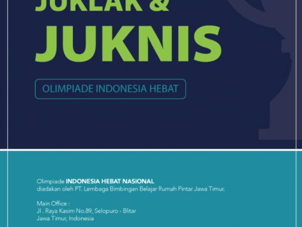 Juklak dan JukNis Olimpiade indonesia hebat putaran 2