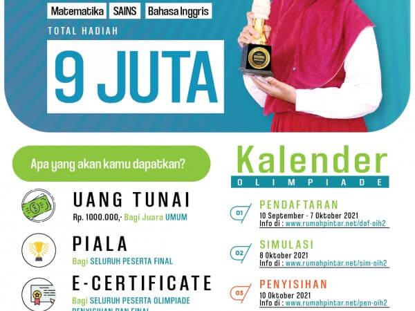 Informasi Penyisihan Olimpiade Indonesia Batch 2